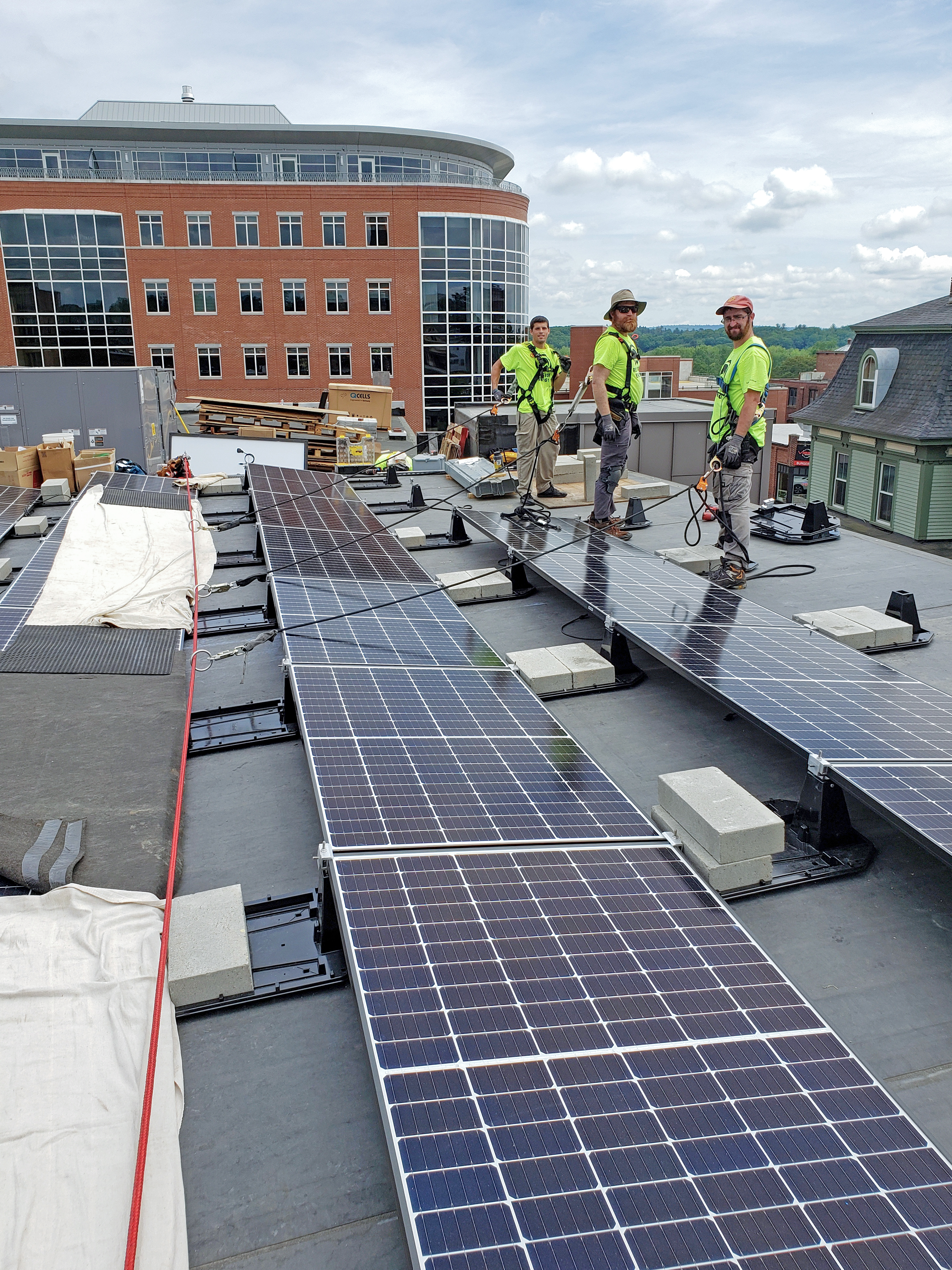 Bank Of New Hampshire Stage Concord Nh Solar Projects Revision Energy