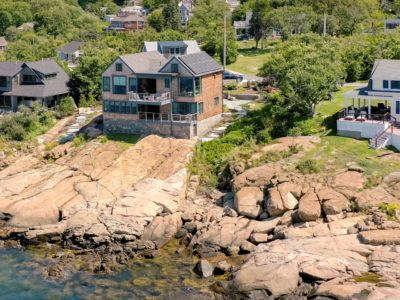 Solar home on the seashore in Gloucester, MA