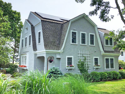 Rooftop solar for a home in Mashpee, MA