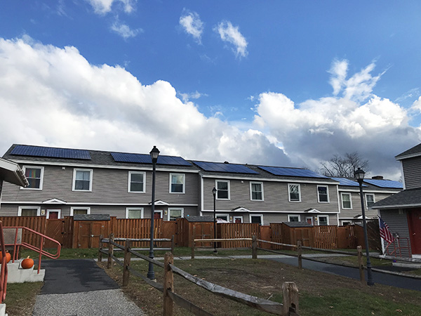 solar panels on affordable housing increases solar access