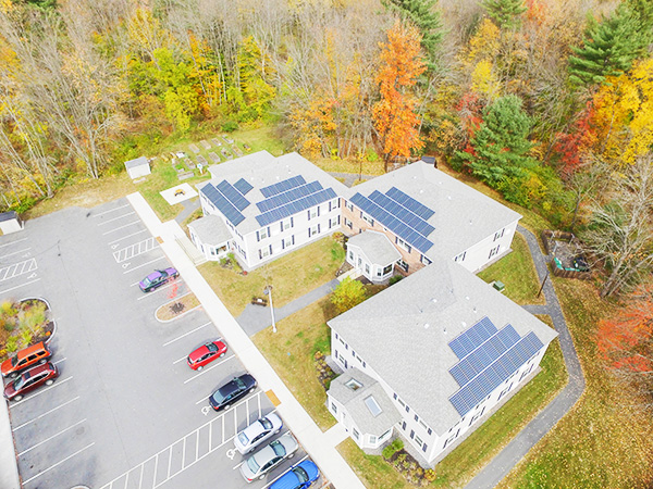 keene housing solar panels grow low income solar access