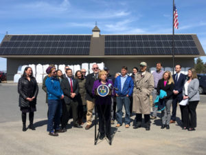 ReVision Energy and Insource at Maine solar policy bill signing