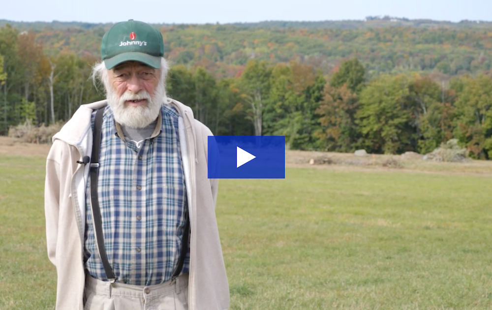 Maine Farmer Peter Curra talks about the benefits hosting a community solar farm has had for his family and business
