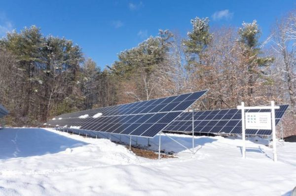 MacDowell Reaches 100% Solar Electric Generation