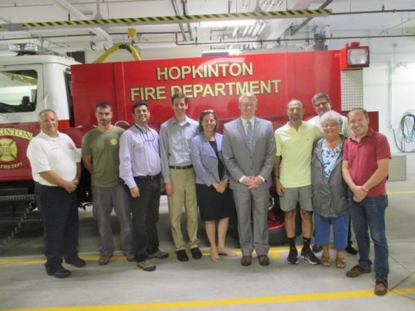 Hopkington Fire Department Solar