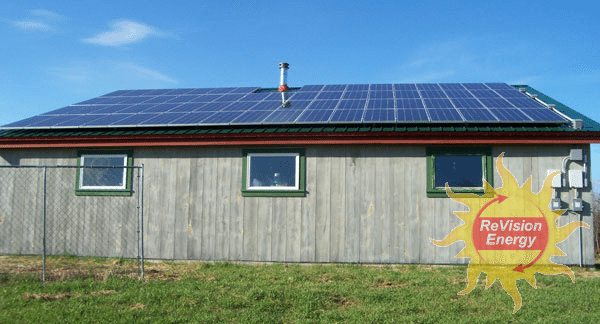 Monroe Maine Solar Projects Revision Energy