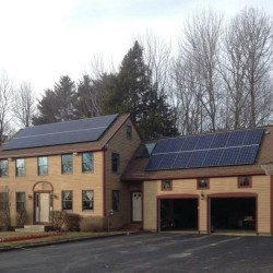 solar PV project in wiscasset maine